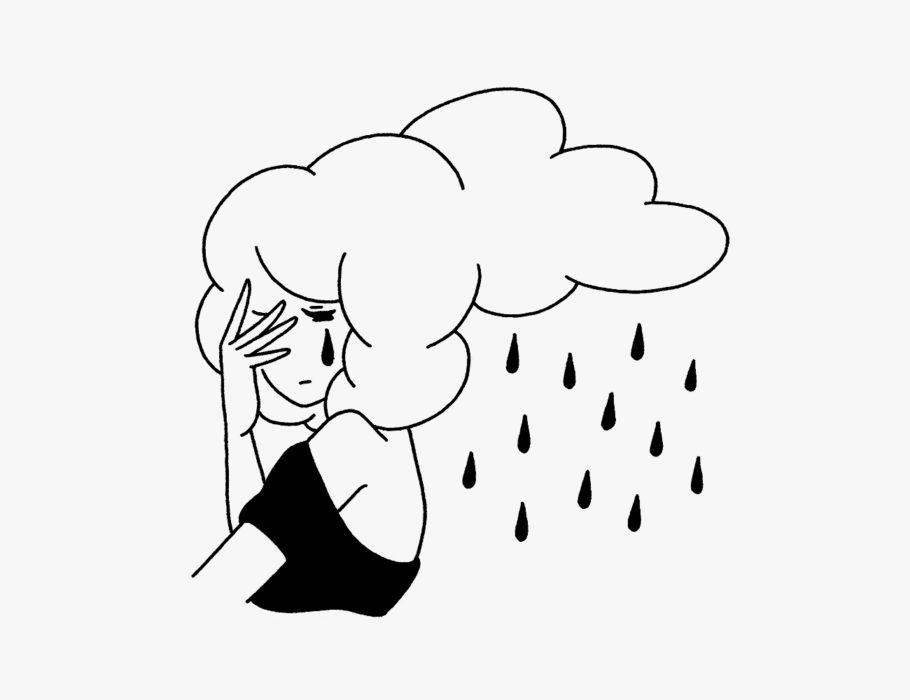 明け方の雨と女の涙はすぐに止む / Early rain and a woman's tears are soon over. (Britain proverb)